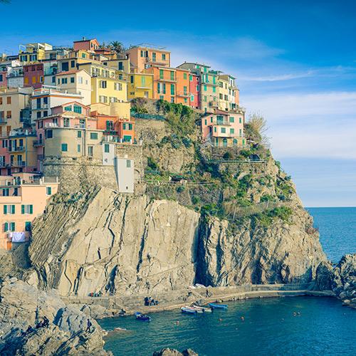 coast-liguria, Italy