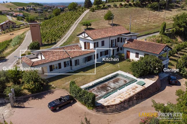 Monferrato villa in beautiful location-3
