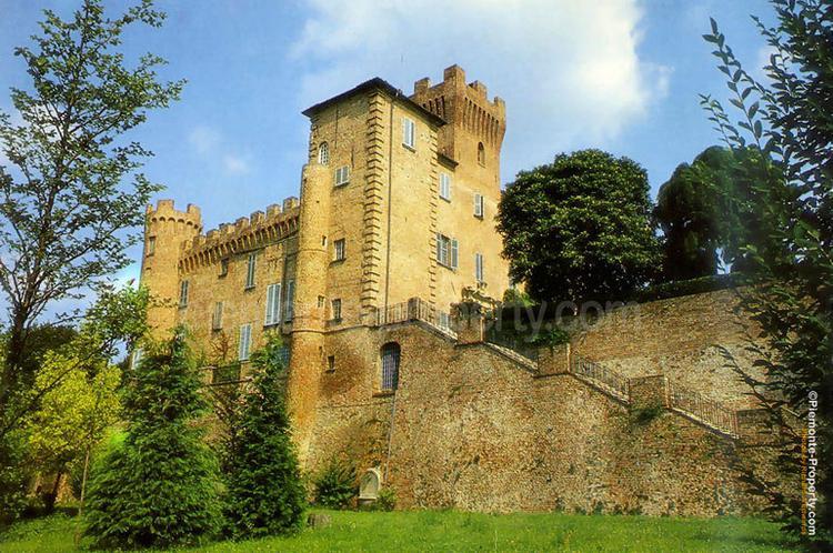 Castle in beautiful setting