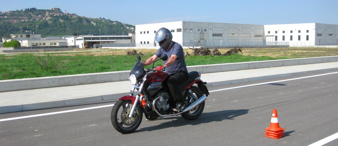 Motorcyle in Piedmont, Langhe