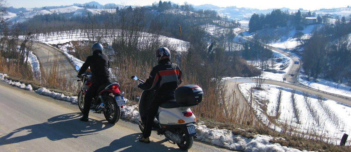Motorcycle Piedmont, Langhe