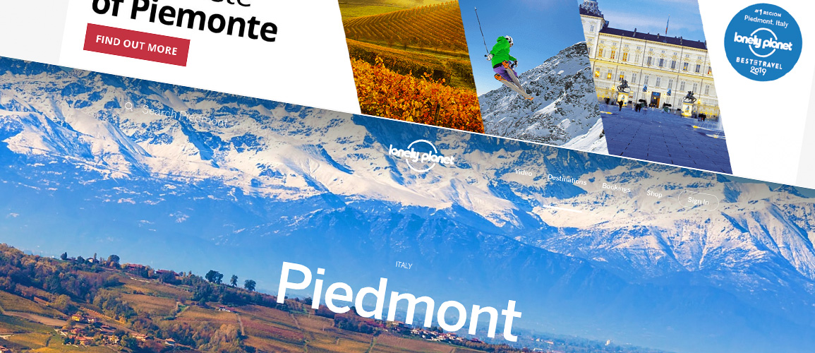 Lonely Planet and Piedmont, Italy