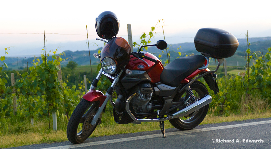 Motorcycling in Piedmont, Italy