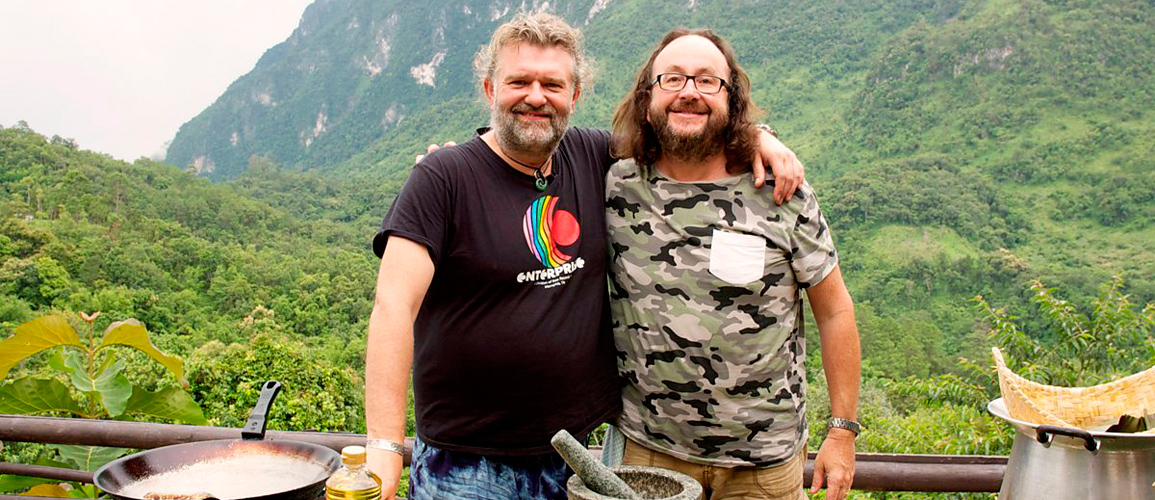 The Hairy Bikers visit Langhe Piedmont