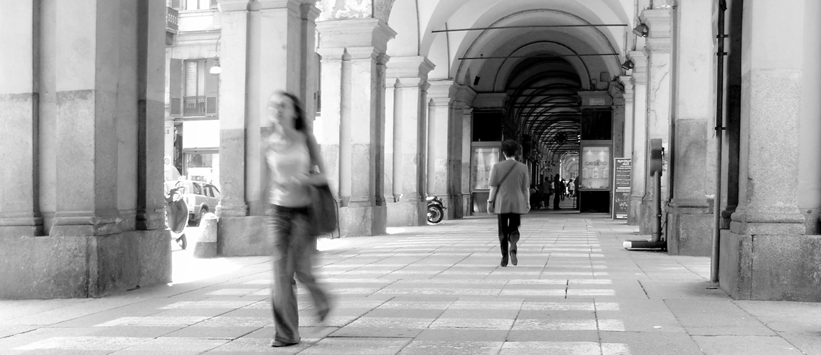 Piazza Carlo Felice, Turin Italy