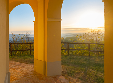 View over the Langhe-Roero